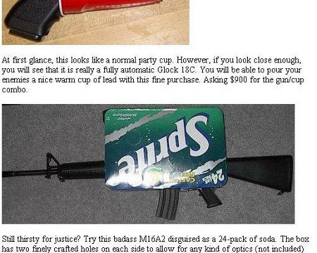 Awesome Man seeks disguised weapons hilarity ensues 2