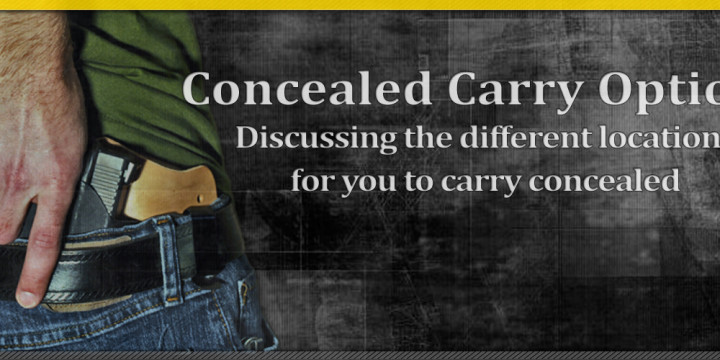 Template concealed carry location options