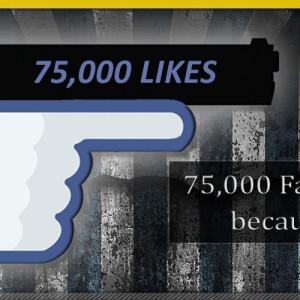 Template 75000 fb likes