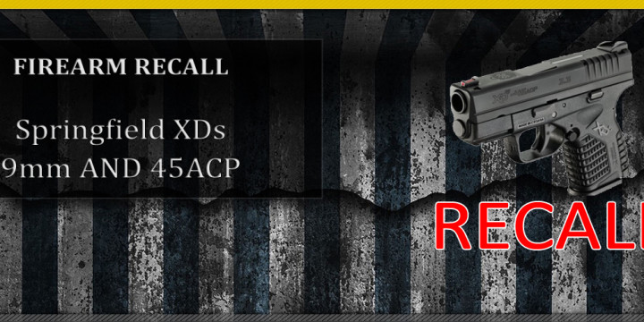 Template SPRINGFIELD XDS RECALL