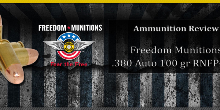 Product review freedom munitions 380 auto 100 gr rnfp fmj concealed nation Freedom motors reviews