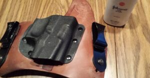 How to fix your squeaky leather holster; A few quick and easy tips!