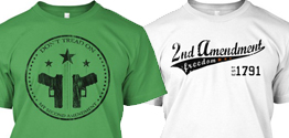 Limited Edition 2nd Amendment T-shirts – ENDS SOON!!
