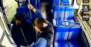 Video of transit working being assaulted by passenger. What would you have done?
