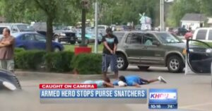 VIDEO: Concealed Carry holder stops robbery. What would you have done?