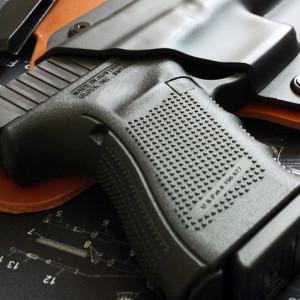 Glock 23 gen 4 grip texture