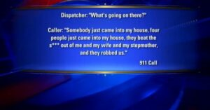 A Florida man calls 911 during a violent home invasion is transferred to voice mail, decides to take matters into his own hands