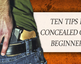 10 Tips for Concealed Carry Beginners (and friendly reminders for experts)