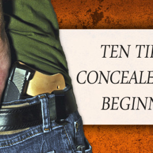 10 tips for concealed carry beginners