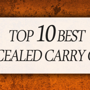 TOP 10 BEST CONCEALED CARRY GUNS