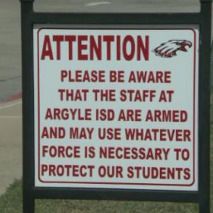Argyle ISD armed