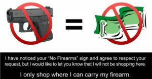 Cards To Give To Your Favorite Gun Free Zone