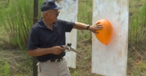 [VIDEO] World Record: Jerry Miculek Hits A Balloon From 1000 Yards With His S&W 929