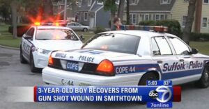 Off-duty NY Cop Accidentally Shoots Himself And His 3-year-old Son While Unloading Firearm