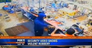 [VIDEO] Store Clerk Shot In Head After Complying With Robber's Demands