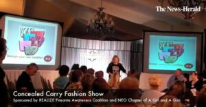 """I Can't Even See It!"" Concealed Carry Fashion Show For Women"