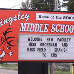 kingsley middle school