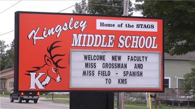 Kingsley middle school