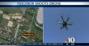 New Jersey Man Shoots Neighbor's Drone Out Of The Sky With Shotgun