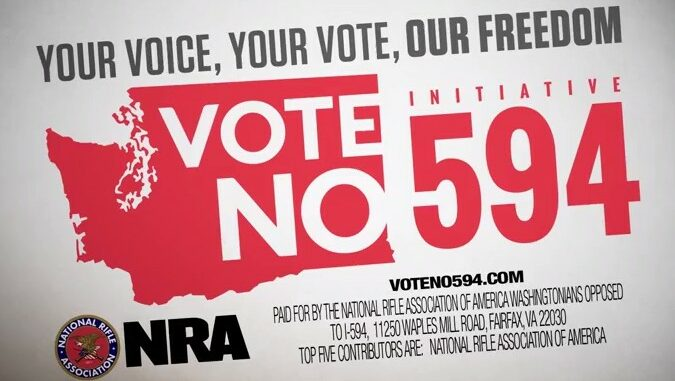 Your Voice, Your Vote, Our Freedom: Vote No on I-594