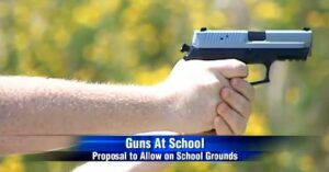 Proposal To Allow Guns On School Property In Wisconsin