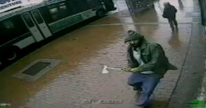 [WHY I CARRY] Caught On Camera; NYPD Officer Attacked With Hatchet, Suspect Shot Dead