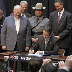Ny safe act signing