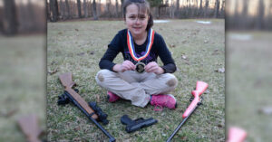 10-Year-Old Competitive Shooter Draws National Attention