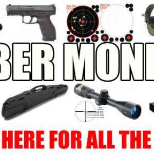 CYBER MONDAY FIREARMS AND ACCESSORIES