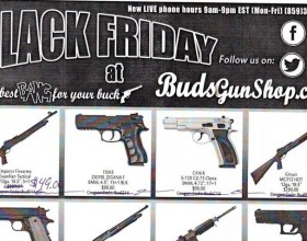 BudsGunShop.com Black Friday Ad Leak, Possibly The Best Deals Ever