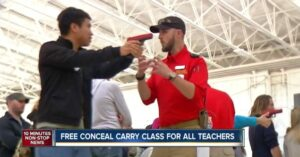 Over 500 Teachers Show Up For Free Concealed Carry Class In Colorado