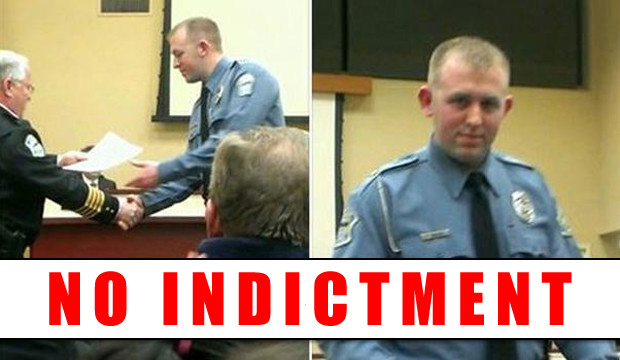 Darrenwilson NO INDICTMENT