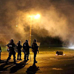 St louis police tear gas riots 600