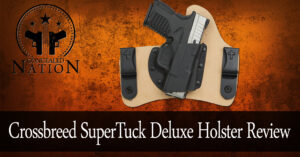 [HOLSTER REVIEW] Crossbreed SuperTuck Deluxe Holster