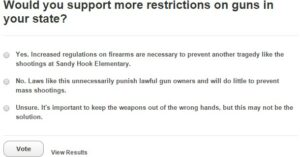 PBS Has A Gun Control Poll And The Results Are Amazing