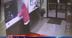 Instant Karma Caught On Camera: Robber Accidentally Shoots Himself During Robbery