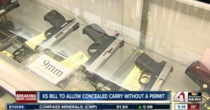 Kansas Residents Could Soon Carry Concealed Without The Need For A Permit