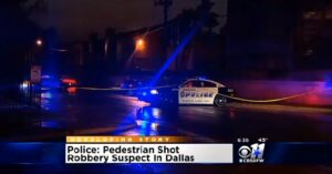 Dallas Armed Robbery Didn't Go As Planned For The Robber, Because He Tried To Rob An Armed Citizen