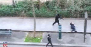[VIDEO] Warning: Graphic Content; Terrorist Gunmen In Paris Got Away Because Police Were Unarmed