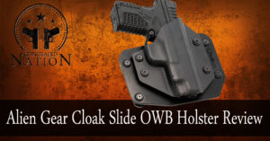 [HOLSTER REVIEW] Alien Gear Cloak Slide OWB Holster