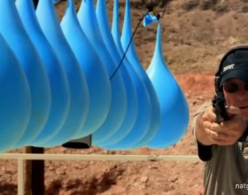 [VIDEO] How Many Water Balloons Do You Need To Stop A Bullet?