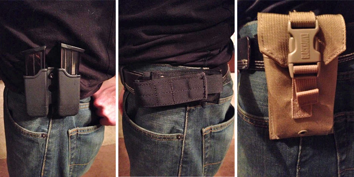 Do You Use Magazine Holders Concealed Nation Interesting Duty Belt Magazine Holder