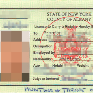 Nys new york state pistol permit