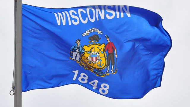 Wisconsin state flag 20120523144929 640 480
