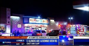 Dallas Convenience Store Manager Shoots Two Armed Robbers Who Didn't Account For Armed Citizens. Play Stupid Games. . .