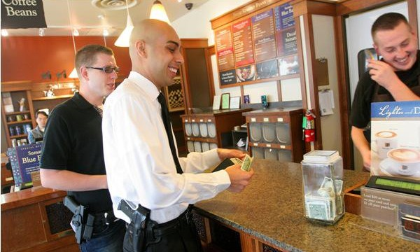 Open Carry Starbucks courtesy csmonitor com