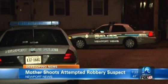 Mother Shoots Intruder Inside Her Home