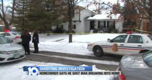 71-Year-Old Man Demonstrates Perfect Marksmanship While Defending Himself Against Home Intruder