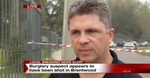 Gunfight: Police and Homeowner vs Burglars