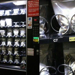 Ammo vending machine